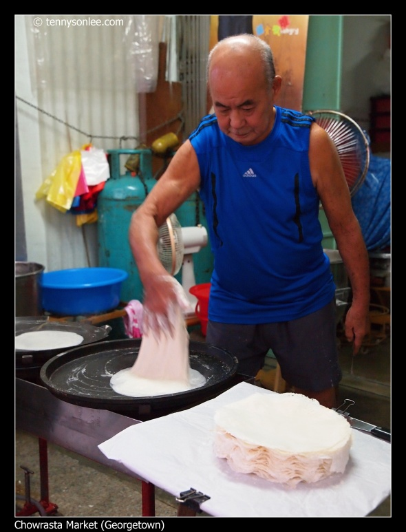 Lim Ah Hoe Poh Piah skin maker