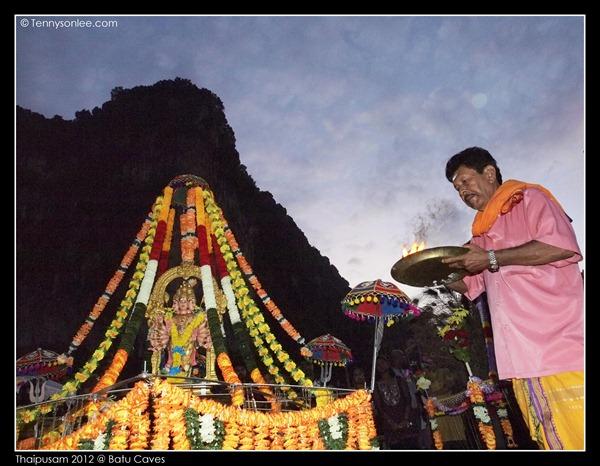 Blessing on Thaipusam (1)