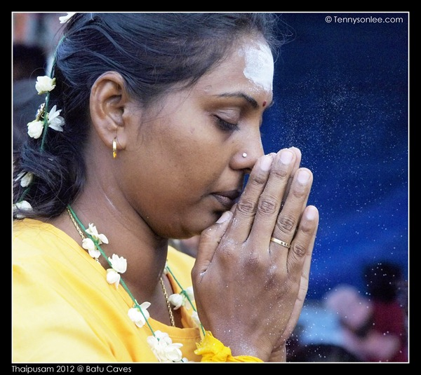 Blessing on Thaipusam (5)