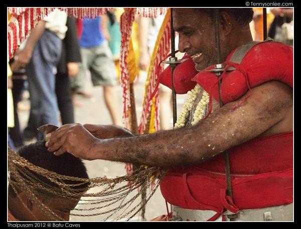 Blessing on Thaipusam (6)