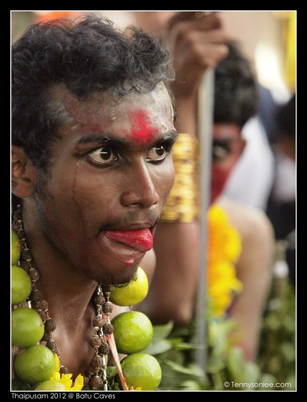 Expressions in Thaipusam 2012 (1)