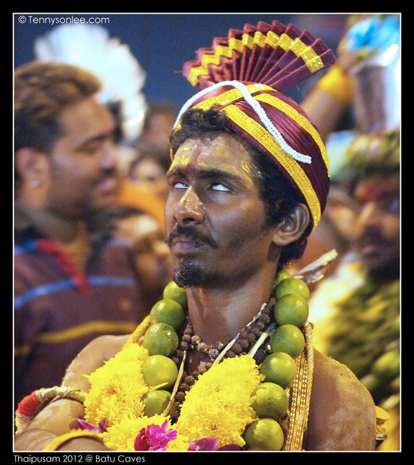 Expressions in Thaipusam 2012 (2)