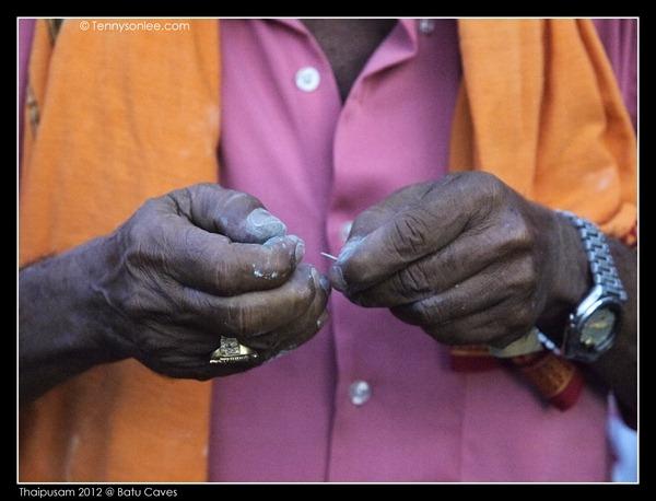Hands in Thaipusam 2012 (3)