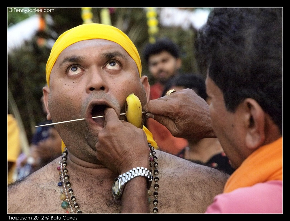 Piercing on Thaipusam 2012 | Present Moment
