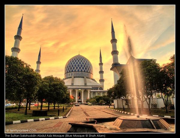 Shah Alam Blue Mosque (2)