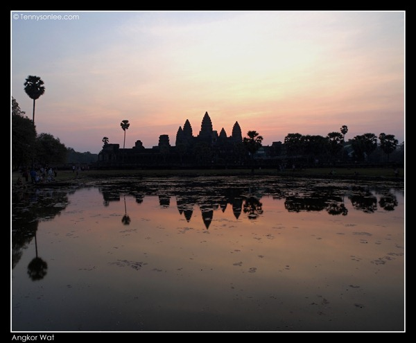 sunrise at Angkor Wat (1)
