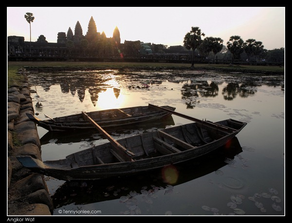 sunrise at Angkor Wat (2)