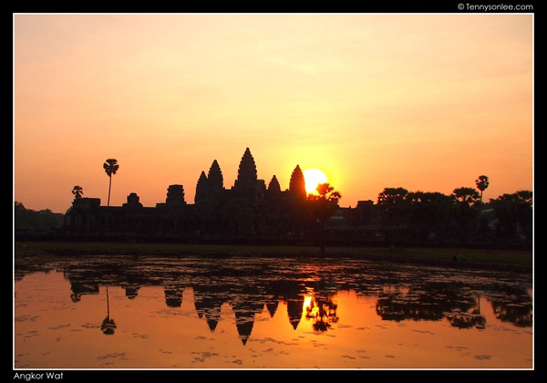 sunrise at Angkor Wat (4)