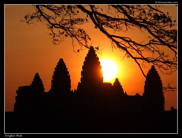 sunrise at Angkor Wat (5)