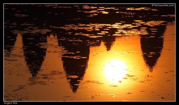 sunrise at Angkor Wat (6)