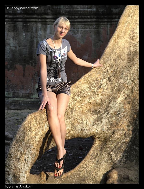 Tourists at Angkor (4)