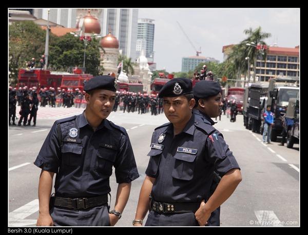 Bersih 3 the guards (3)