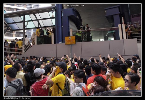 Bersih 3 turned violent (6)