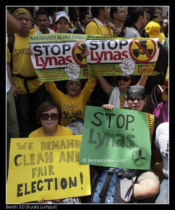 Stop Lynas and Bersih 3 (4)