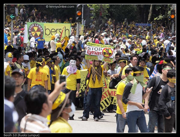 Stop Lynas and Bersih 3 (7)