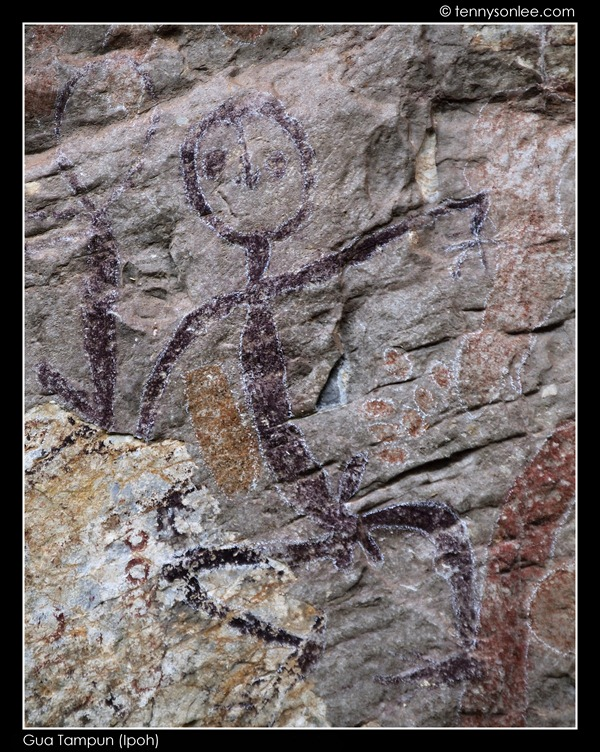 Gua Tambun Prehistoric Paintings (2)
