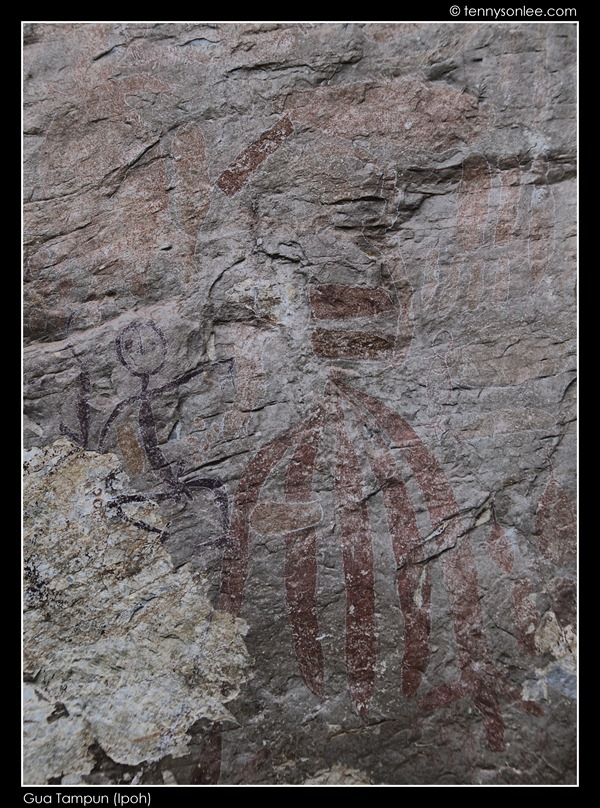 Gua Tambun Rock Paintings (2)