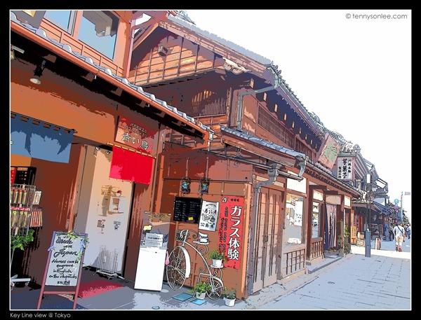 Key Line views at Kawagoe (1)
