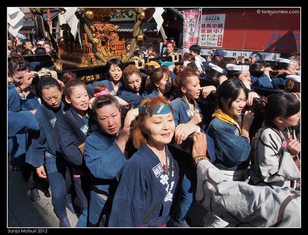 三社祭 Sanja Matsuri kids and ladies (10)
