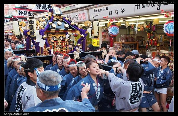 三社祭 Sanja Matsuri kids and ladies (2)