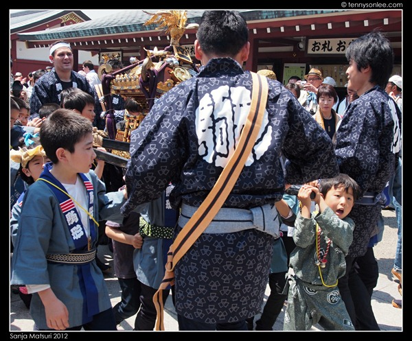 三社祭 Sanja Matsuri kids and ladies (3)