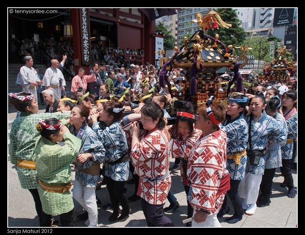三社祭 Sanja Matsuri kids and ladies (4)