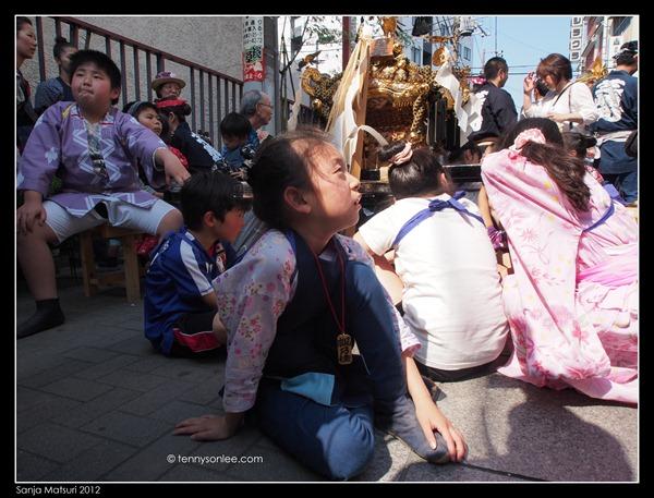 三社祭 Sanja Matsuri kids and ladies (6)