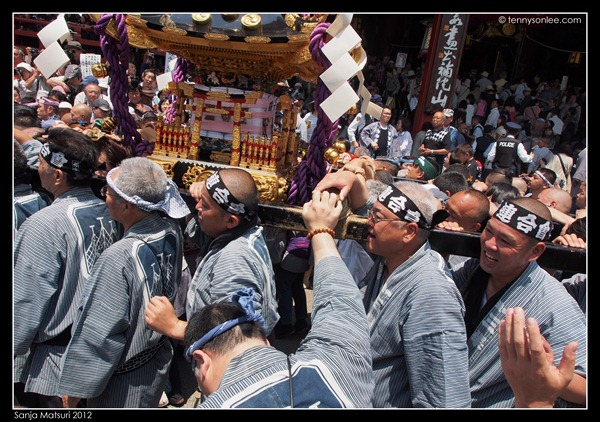 三社祭神轿 Sanja Matsuri Mikoshi (11)