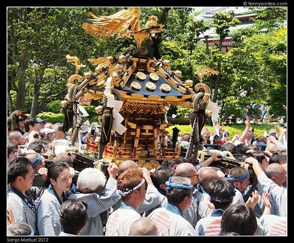 三社祭神轿 Sanja Matsuri Mikoshi (13)