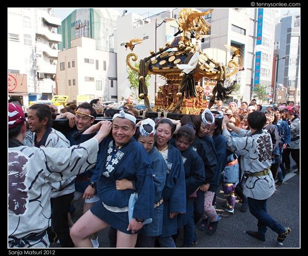 三社祭神轿 Sanja Matsuri Mikoshi (14)