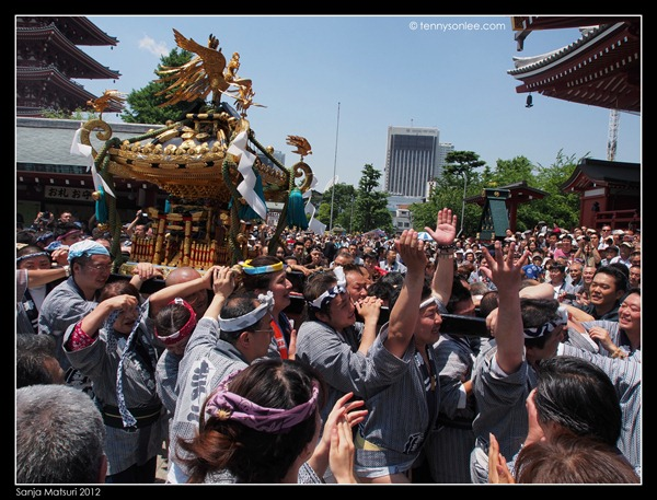 三社祭神轿 Sanja Matsuri Mikoshi (1)