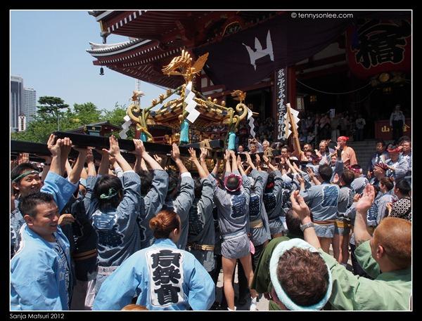 三社祭神轿 Sanja Matsuri Mikoshi (2)