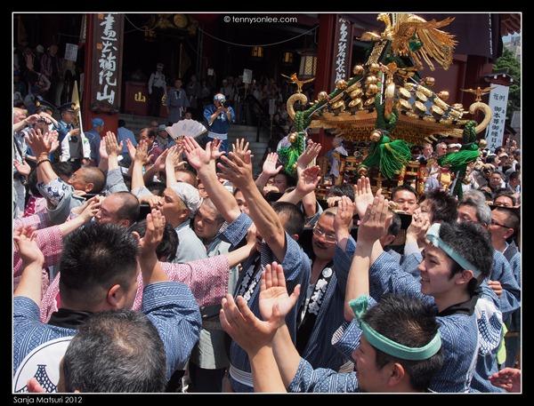 三社祭神轿 Sanja Matsuri Mikoshi (6)