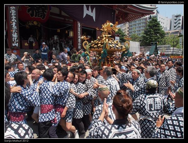 三社祭神轿 Sanja Matsuri Mikoshi (7)