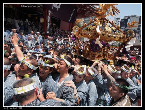 三社祭神轿 Sanja Matsuri Mikoshi (9)