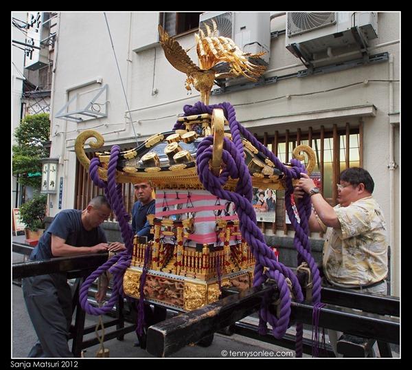 三社祭 Sanja Matsuri Preparation (1)