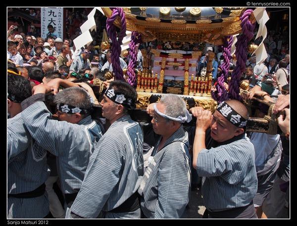 三社祭 Sanja Matsuri Preparation (8)