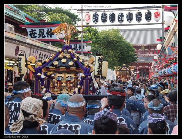 三社祭 Sanja Matsuri procession (12)