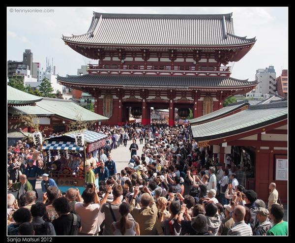 三社祭 Sanja Matsuri procession (1)