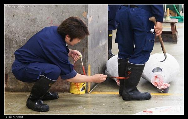 Tsukiji Market Tuna Auction (3)