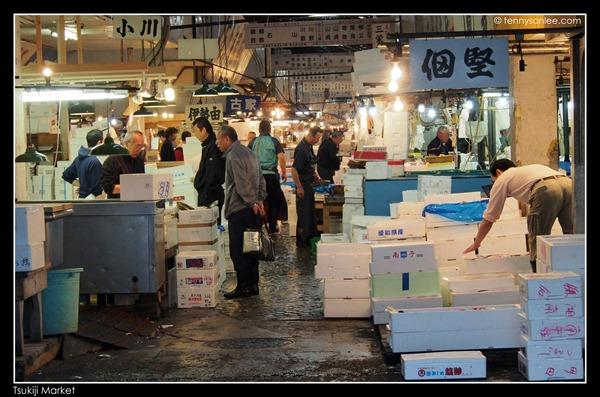 Tsukiji Market Tuna Auction (9)