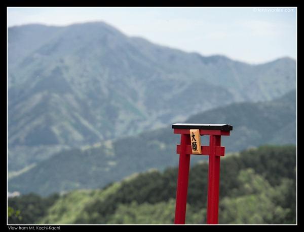 View from Mt. Kachi-Kachi