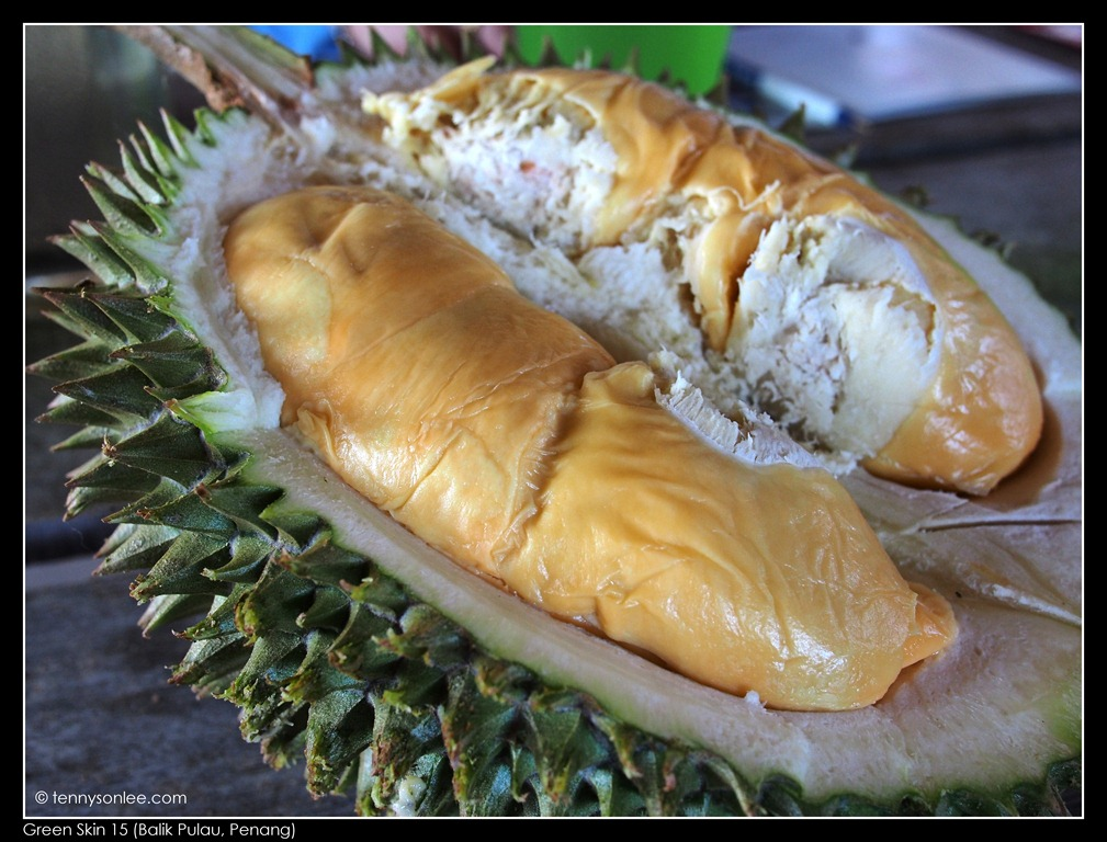 how to choose bitter durian