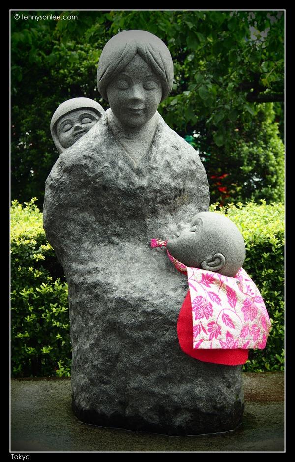 母子地藏尊