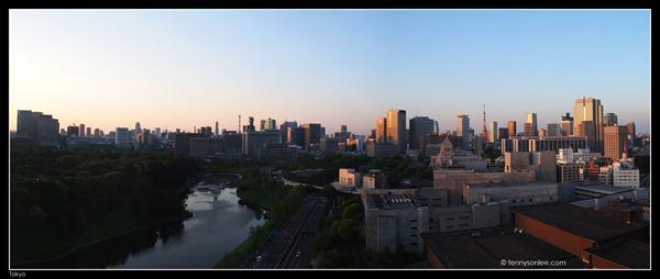Tokyo Cityscape at Hanzomon (1)