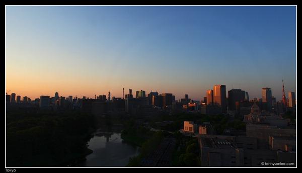 Tokyo Cityscape at Hanzomon (2)