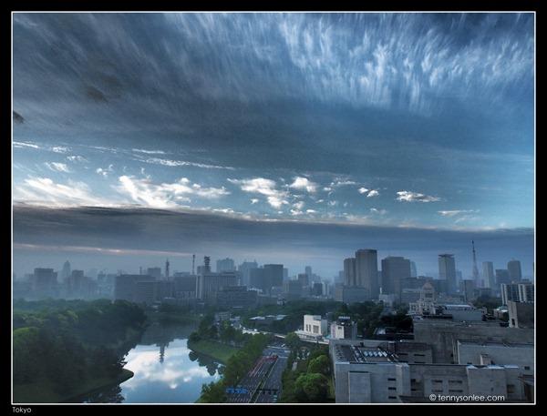 Tokyo Cityscape at Hanzomon (4)