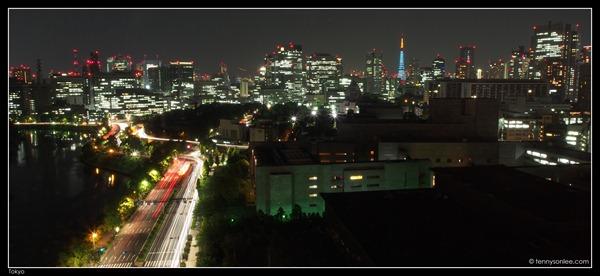 Tokyo Cityscape at Hanzomon (5)