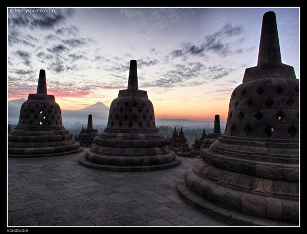 Borobudur Sunrise (2)