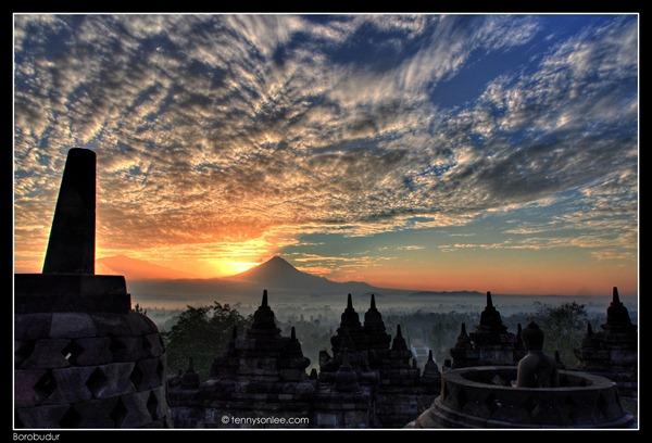 Borobudur Sunrise (6)